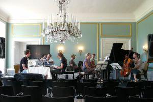 Prøve på aftenens DYGONG / Trio Ismena koncert