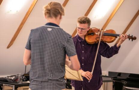 Nicholas Algot Swensen og Jonas Frølund