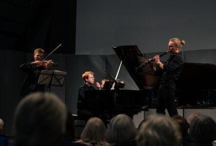 Unge talenter: Jonas Frølund, Nicholas Algot Swensen, Elias Holm