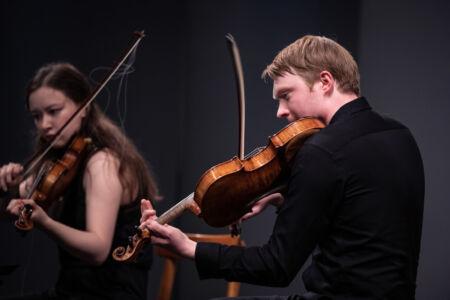 Unge talenter: Crescendo Kvartet