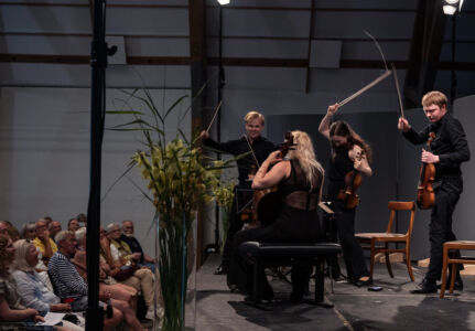 Crescendo Kvartet spiller Jörg Widmann