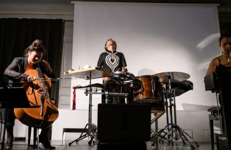 Nadia Ratsimandresy, Alexandra Hallén og Ying-Hsueh Chen