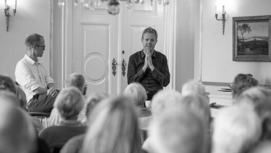 Festivalleder, Bernard i samtale med Mathias Hammer