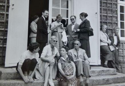 Hindsgavl-Festival-1955-gæster-på-terassen