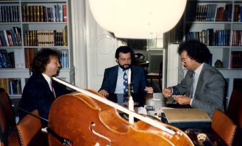 Pavel Gililov, Dmitry Sitkovetsky, Boris Pergamenschikow