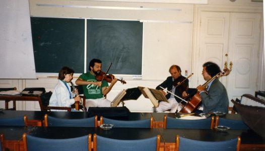 Anne Leek, Dmitry Sitkovetsky, Rainer Moog, Boris Pergamenschikow