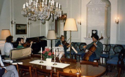 Pavel Gililov, Dmitry Sitkovetsky, Rainer Moog, Boris Pergamenschikow