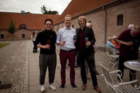 Magnus, Bernard og Egil