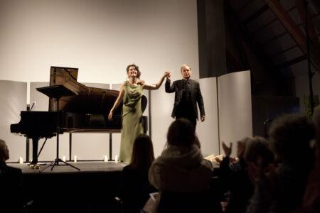 Anna Prohaska og Julius Drake
