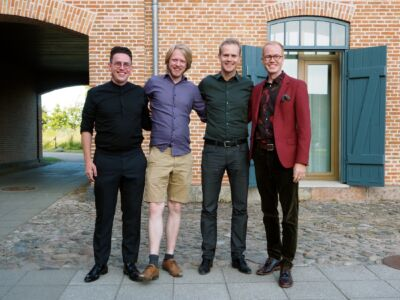 Magnus, Egil, Bernard og Mathias