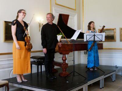 Lars Ulrik Mortensen – cembalo, Sophie Gent – violin, Jane Gower – dulcian/fagot