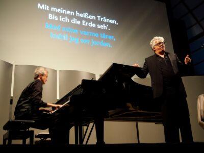 Werner Güra, tenor og Jens Fuhr, klaver