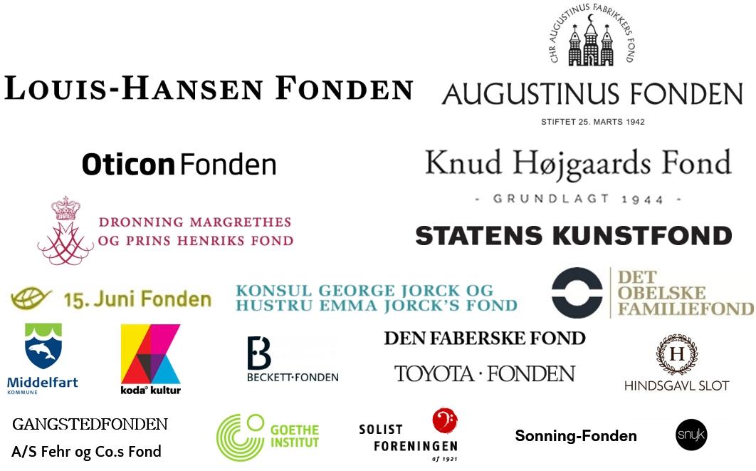2018 Logoer fra fonde