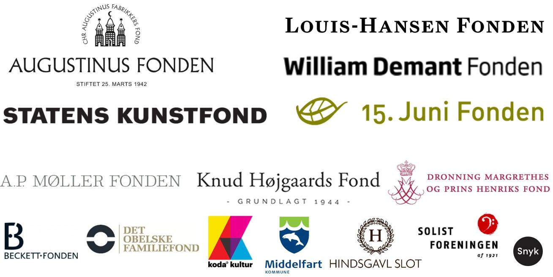2019 Logoer fra fonde