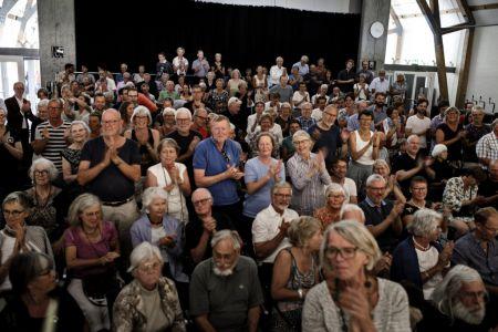 107-Hindsgavl071517 Publikum Applaus