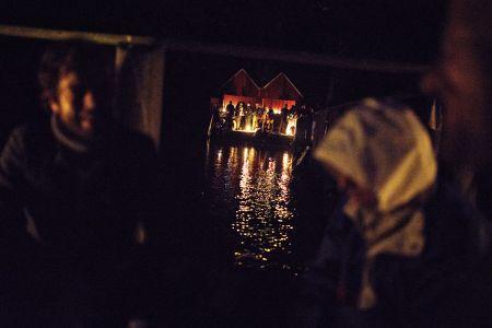 Aftenbar ved badebroen på Hindsgavl Festival 2017.